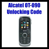 Alcatel OT-090 Unlocking Code
