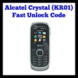 Alcatel Crystal (KR01) Unlocking Code