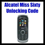 Alcatel Miss Sixty Unlocking Code