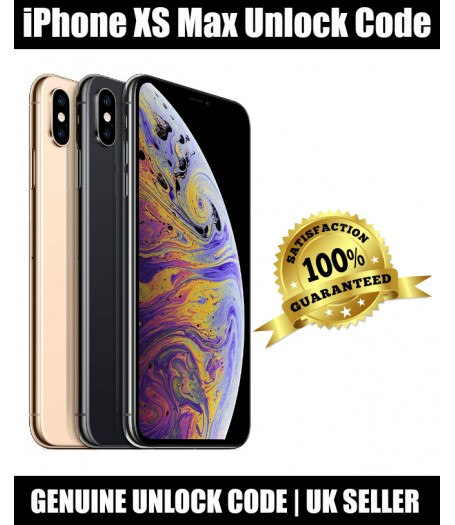 iPhone XS Max Vodafone UK Network Cheap Unlocking Code