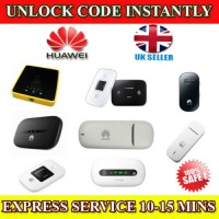 Unlocking Code For HUAWEI E160E E160G E160X USB Modem Instantly