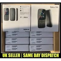 Nokia 106 Dual SIM Mobile Phone UNLOCKED Dark Grey Color with FREE SIM
