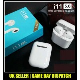 i11 TWS Wireless Earbuds 5.0 Bluetooth Earphone Headphone Air Pods Touch Control