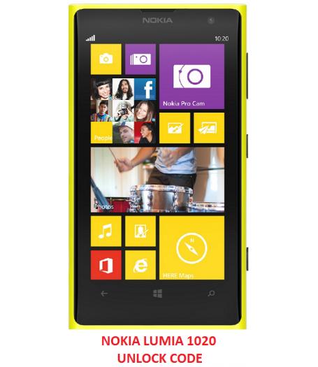 Nokia Lumia 1020 Cheap Unlocking Code