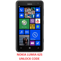Nokia Lumia 625 Cheap Unlocking Code